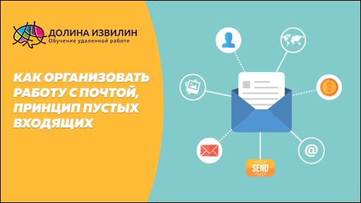 Как организовать работу с почтой? Принцип пустых входящих и распределения писем по папкам